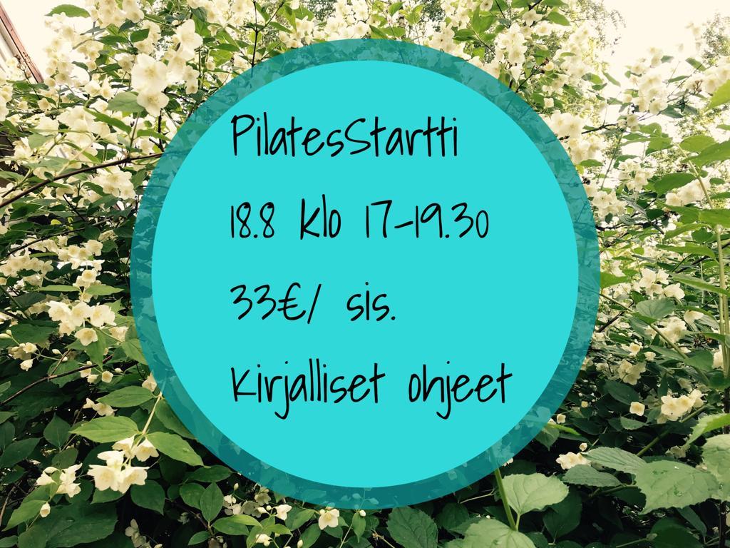 Syksyn ensimmäinen PilatesStartti