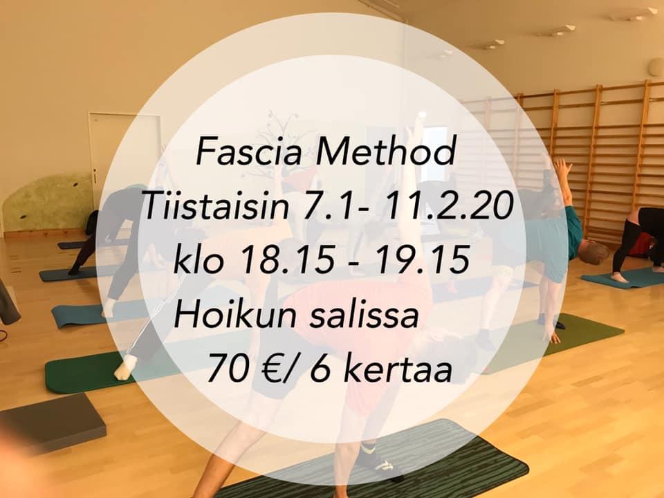 FasciaMethod-kurssi alkaa tammikuussa