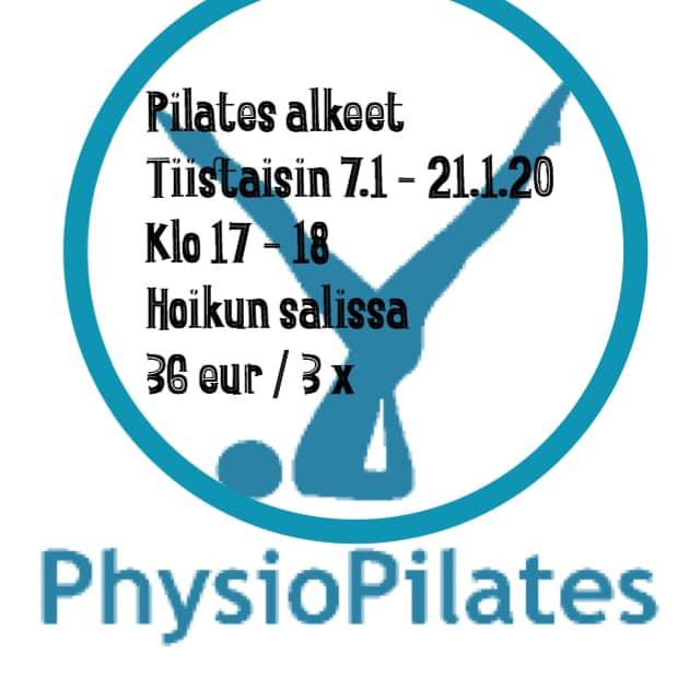 Pilates-alkeisryhmä alkaa tammikuussa
